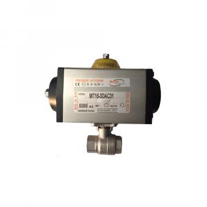 Valvole sfera in ottone con attuatore pneumatico - Acqua | Hot & Cold