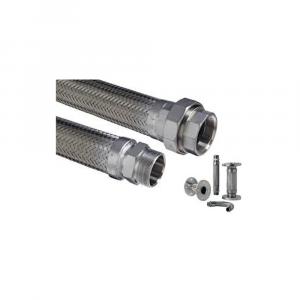 Tubi flessibili in acciaio inox - Raccordi | Hot & Cold