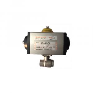 Valvole filettate in acciaio inox Aisi 316 attuatore pneumatico - Raccordi | Hot & Cold