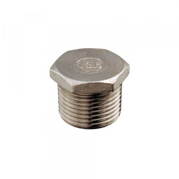 Tappi in acciaio inox Aisi 316 - Raccordi inox | Hot & Cold