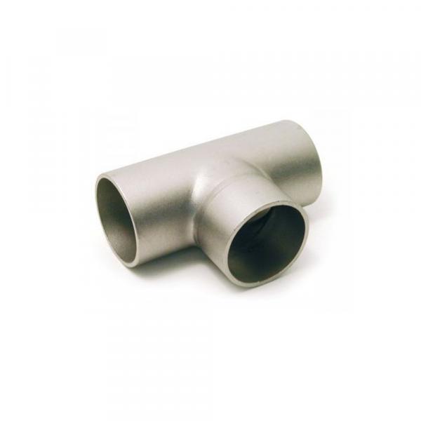 Tee a saldare in acciaio inox Aisi 304 - Raccordi inox | Hot & Cold