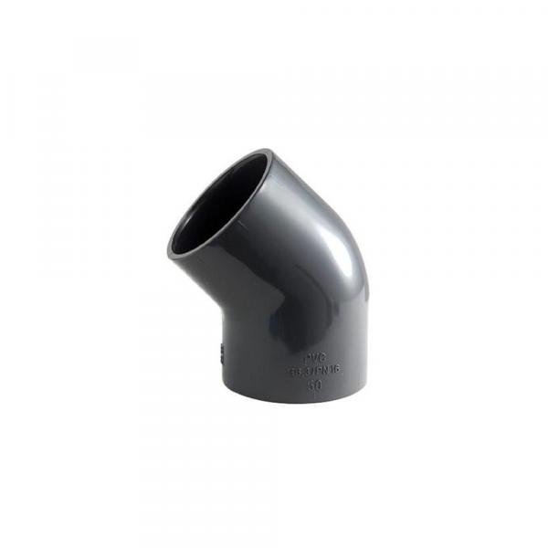 Gomitoa 45° a incollaggio in PVC - Raccordi in PVC | Hot & Cold