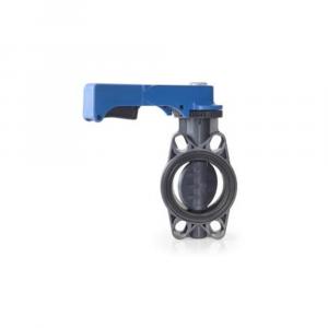 Valvola a farfalla pneumatica o elettrica in PVC | Hot & Cold