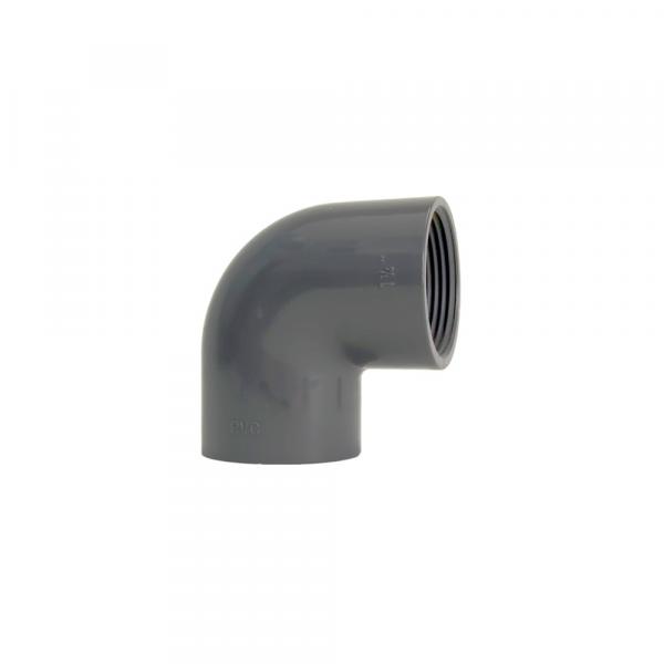 Curve e gomiti filettati a 90 - Raccordi in PVC | Hot & Cold