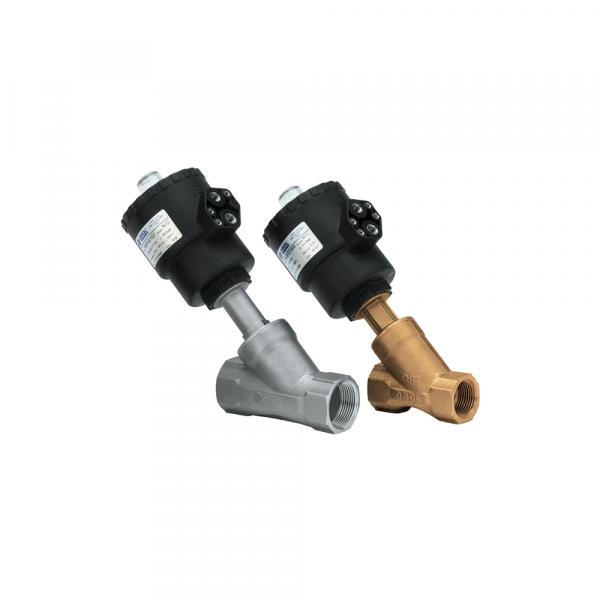 Valvola pneumatica a pistone in bronzo - Accessori Vapore   Hot & Cold