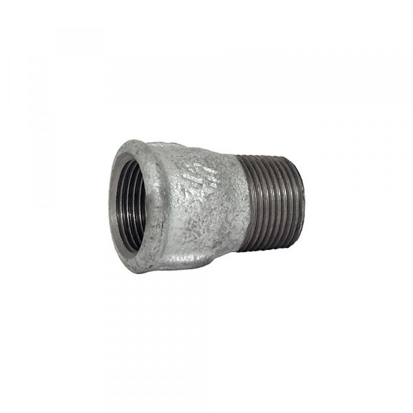 Manicotto diritto m/f in ghisa zincata - Raccordi zincati | Hot & Cold