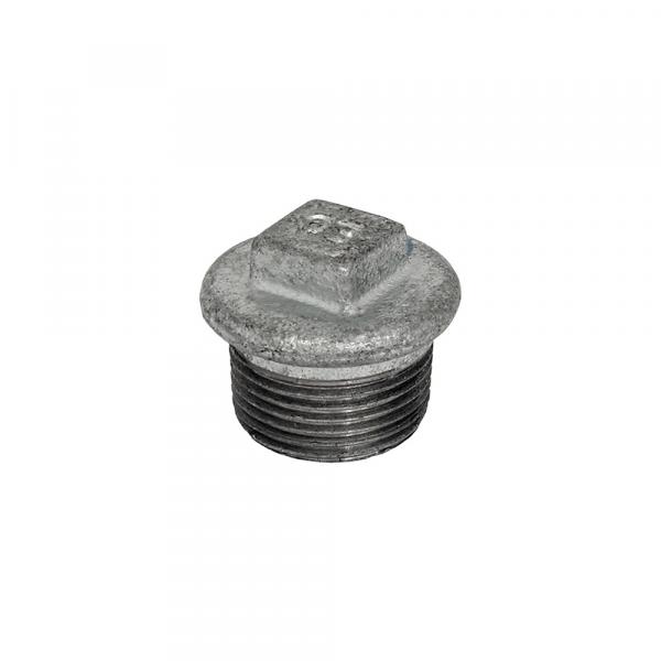 Tappo maschio in acciaio zincato - Raccordi zincati | Hot & Cold