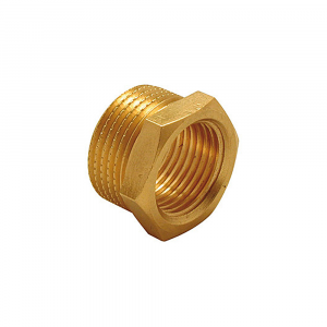 Riduzione m/f in ottone - Raccorderia e Raccordi zincati | Hot & Cold